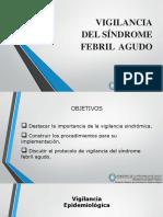 Vigilancia de Sindrome Febril Agudo en Enfermedad Funense en La Familia Jovell