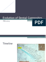 Evolution of Dental Composites PBL
