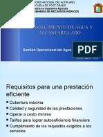 Control Operacional de Los Servicios de Saneamiento