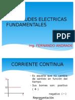 Magnitudes Electricas Fundamentales 1