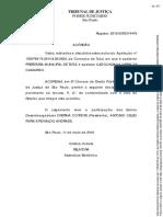 Acórdão TJSP Prefeitura de Tatuí x Gonzaga (Caso Sanson)