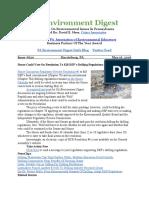 Pa Environment Digest May 16, 2016