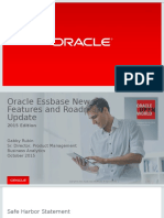CON9527_Rubin-CON9527 - Oracle Essbase New Features and Roadmap Update - 2015 Edition Copy