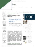 Rangkaian Power Supply Portabel _ Gambar Skema Rangkaian Elektronika