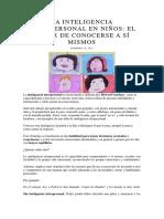 La inteligencia intrapersonal en niños.pdf