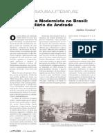 A poesia modernista no Brasil
