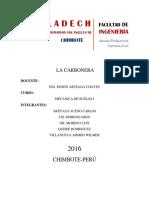 Informe Cantera Carbonera