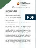 Carta Petrochina 2