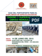 Guia Del ParticipGUIA_DEL_PARTICIPANTE_DE_HIDRAULICA-2015- HUARAZante de Hidraulica-2015- Huaraz