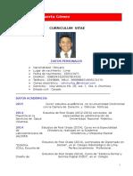 Curriculum de Johnny Huerta