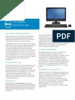 Dell OptiPlex 3030 AIO Technical Spec Sheet New
