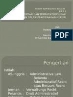 Bab 01-Hukum Administrasi Negara