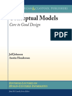 Conceptual Models - Core to Good Design