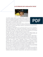 Educación Inicial en El Perú