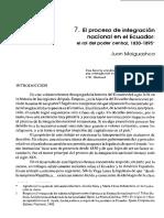 09. El Proceso de Integración en El Ecuador