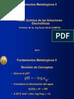 Lección III -A Físico Química de Soluciones Acuosas
