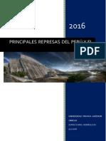 Principales Represas Del Perú y Del Mundo