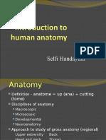 Pengenalan Anatomi Tubuh Manusia