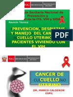 Oncología - Cancer de Cervix