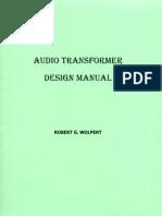 Audio Transformer Design Manual - Robert G. Wolpert (2004)