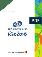 Pre Prova Inss 2016