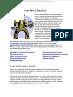 Manual Mecanica Basica Funcionamiento Arranque Revision Partes Componentes Sistemas Motor
