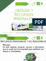 Energia y recursos minerales