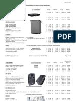 Alobars Rental Pricelist TS 2.24.2015