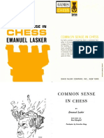 Common Sense in Chess - Emanuel Lasker.pdf
