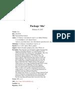 Manual de Paquete (FDA)