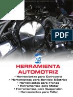 Catalogo Herramientas Automotrices Carroceria Servicio Electrico Frenos Motor Suspension Taller Mecanico