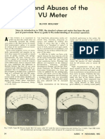 Uses and Abuses of the VU Meter -Oliver Berliner (Audio, Nov 1955)