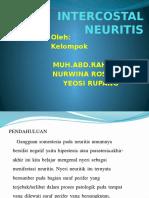 Intercostalis Neuritis