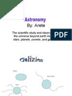 Arete Astronomy