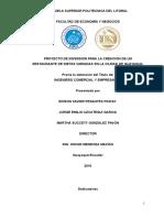 PROYECTO DE INVERSION PARA LA CREACION DE UN RESTAURANTE DE DIETAS VARIADAS EN LA CIUDAD DE GUAY2.doc