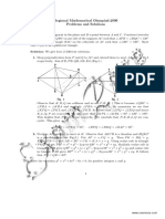 RMO Solved Paper 2000