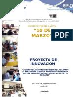 4 Proyecto de Innovación Aip-crt 2016