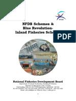 Guidelines NFDB Schemes & Blue Revolution-Inland Fisheries Schemes