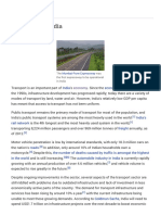 Transport in India - Wikipedia, The Free Encyclopedia