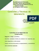 Controles y Tecnicas de Laboratorio