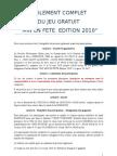 Reglement Complet Du Jeu Mef 2010
