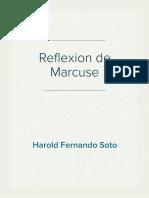 Reflexion de Marcuse sobre la cultura