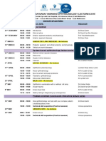 The John Colvin Saturday Morning Ophthalmology Lectures Series 2015