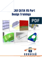 Gurucad Catia v5 Part Design Trainings-De