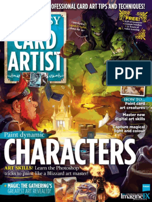 Fantasy Card Artist - 2016 UK pdf | Blizzard Entertainment