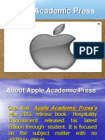 Apple Academic Press Reviews