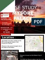 mysore palace architectural case study