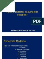 Como Redactar Documentos Oficiales