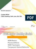 4 WDM Technology Basics