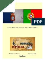 O Golpe Militar de 28 de Maio de 1926 e a Ditadura Militar